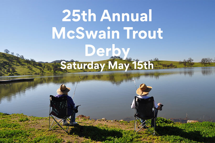 The 25th Annual Lake McSwain Trout Derby